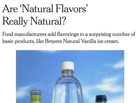 """Is """"Natural"""" really natural?"""