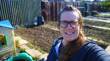 Sunny Saturday At The Allotment