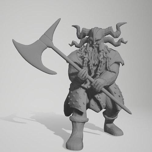 Jarl Storvald - Frost Giant