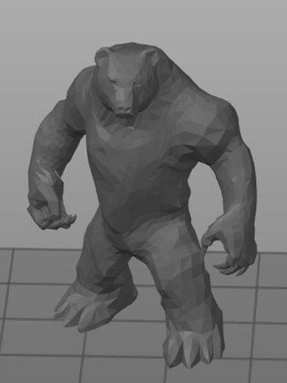 Homem-Urso / Werebear