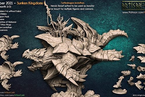 Turtledragon Leviathan