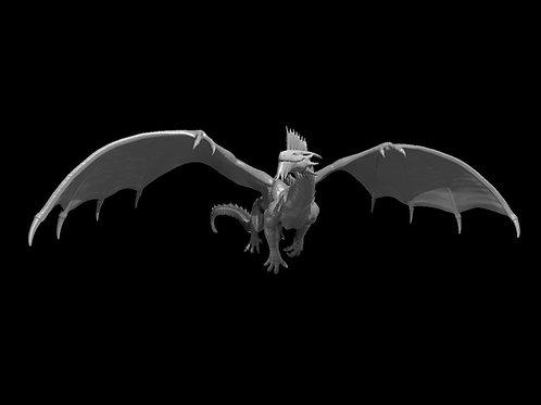 Dragão de Prata  - Voador