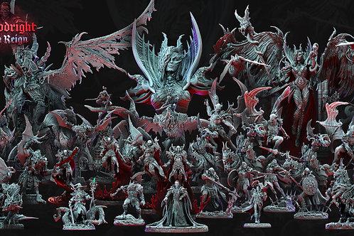 Coleção Especial  - Bloodright Red Reign