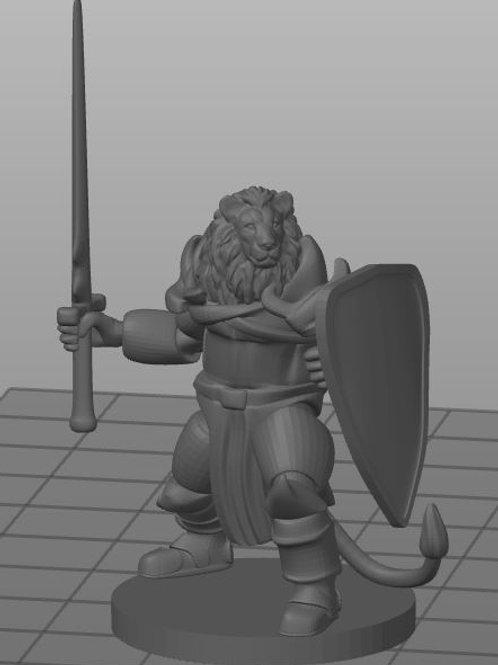 Lionfolk Clerigo