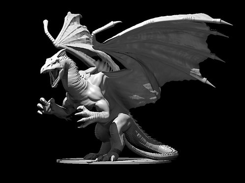 Dragão Branco Adulto 2