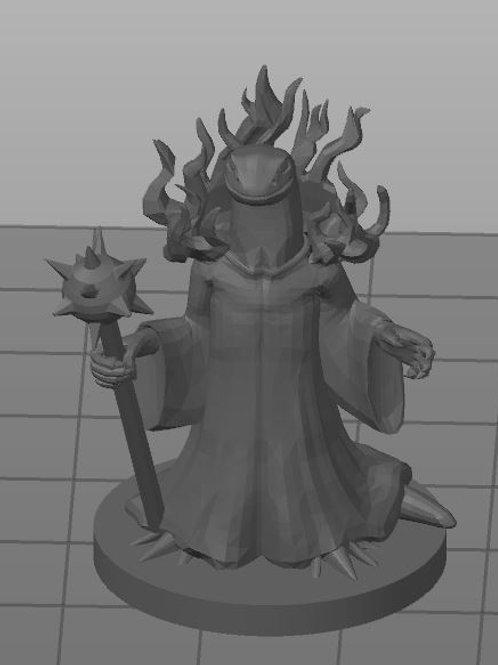 Firenewt Warlock