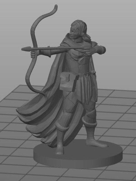 Meio-elfo Patrulheiro 1