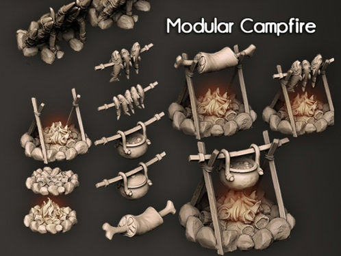 Kit Modular Campfire - Troubles in Tavern