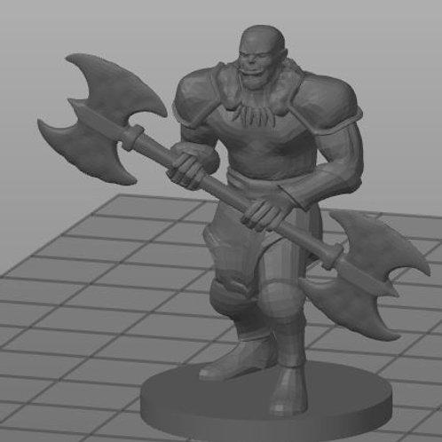 Meio-orc Bárbaro 2