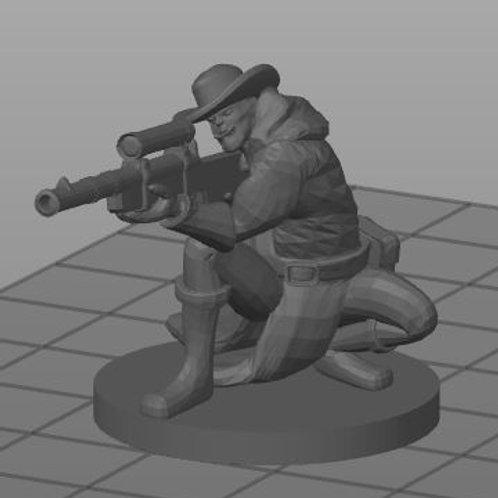 Meio-orc Gunslider 2