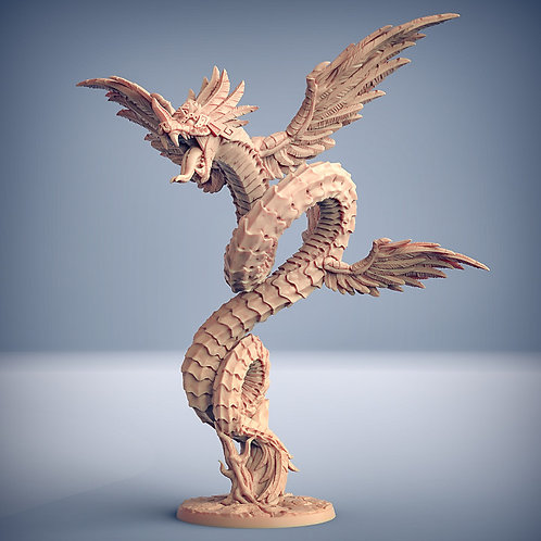 Quetzalcoatl the Snake God - Epic Boss