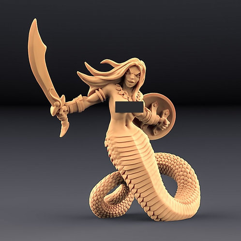 Snakewoman Guarda A
