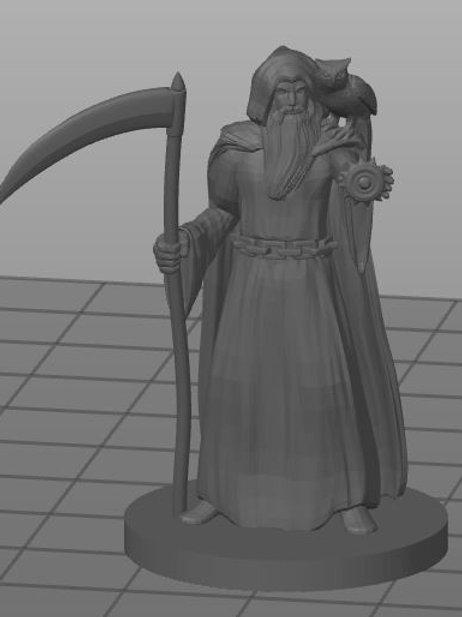 Humano Clerigo da Morte 1