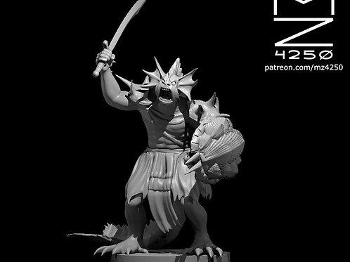 Sahuagin Blade Fighter