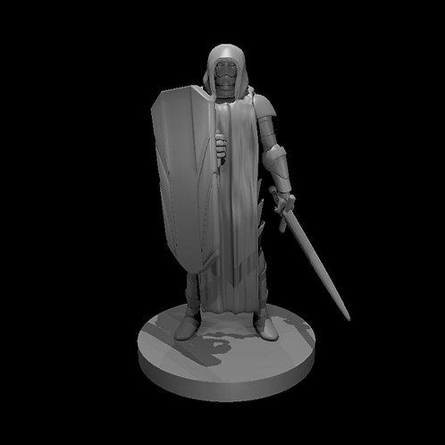Warforged Clérigo com Espada