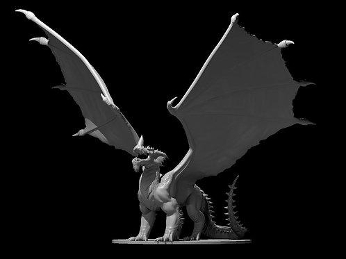 Dragão Azul Adulto 2