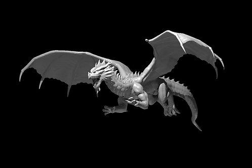 Dragão Vermelho Voador