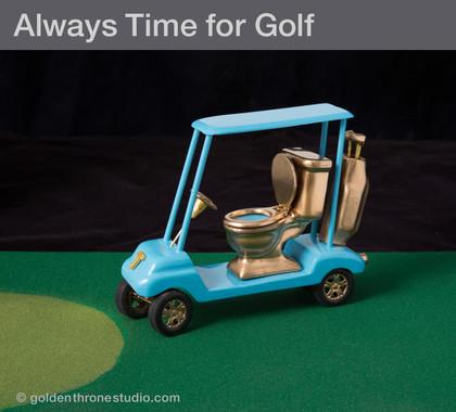 110 Days of Golf since Trump's Innauguration