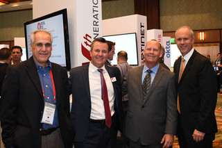 Nth's Dan Molina and Jeromie Jackson with Clients