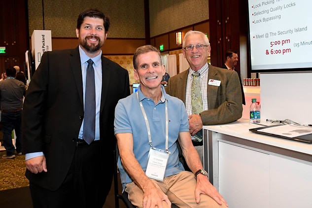 Nth's Joseph Smith and Casey Burke with a Client