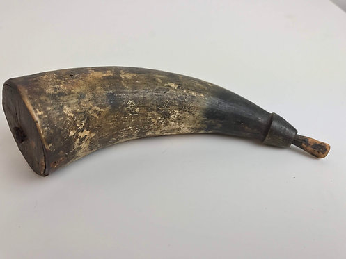 Authentic 1800's Powder Horn