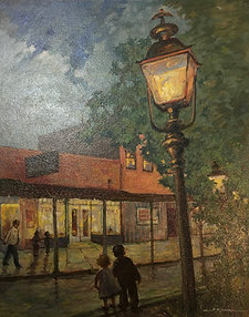 """Street Light"" By Ward"