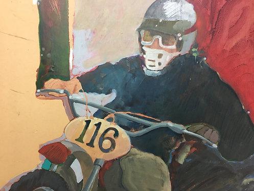 """""""Moto Cross"""" by Unknown Artist"""
