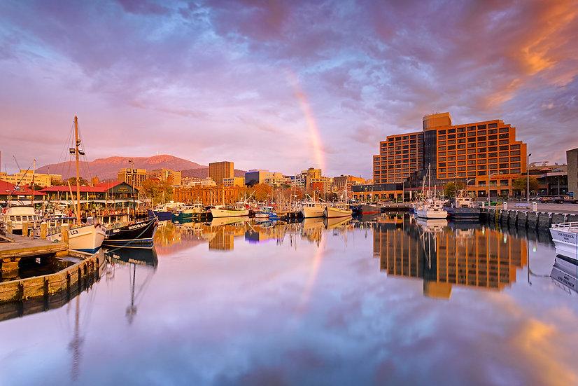 Constitution Dock Sunrise