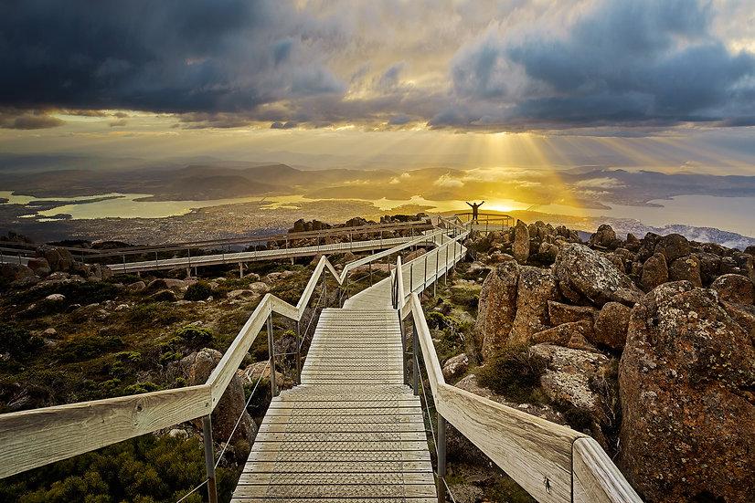 Sunburst Mt Wellington