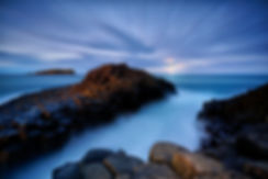Fingal Causeway Sunset Landscape Photography