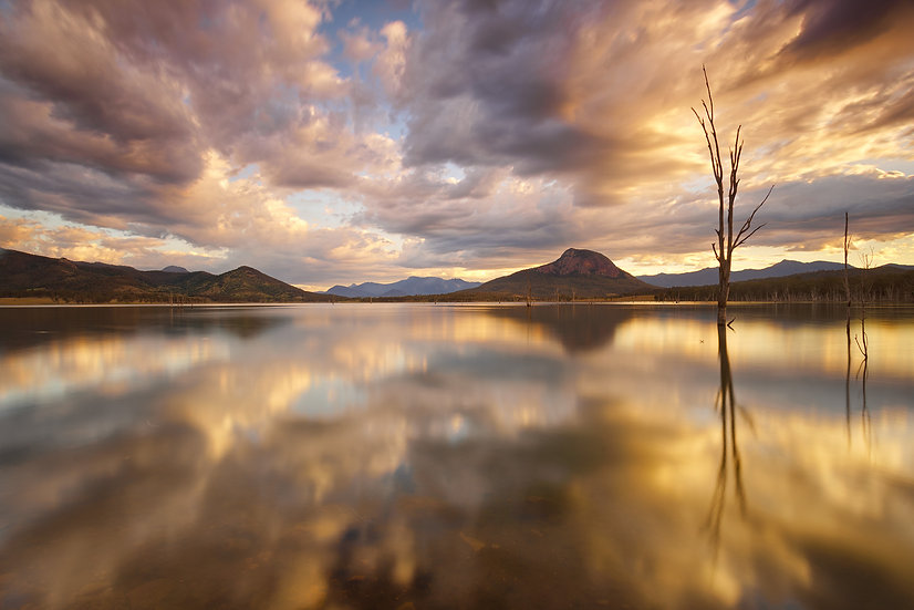 Lake Moogerah Sunset