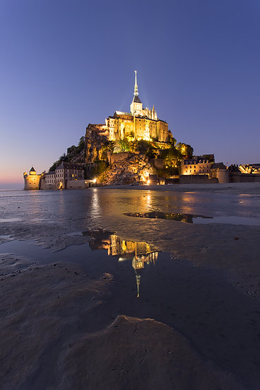 St Mont Michel - France