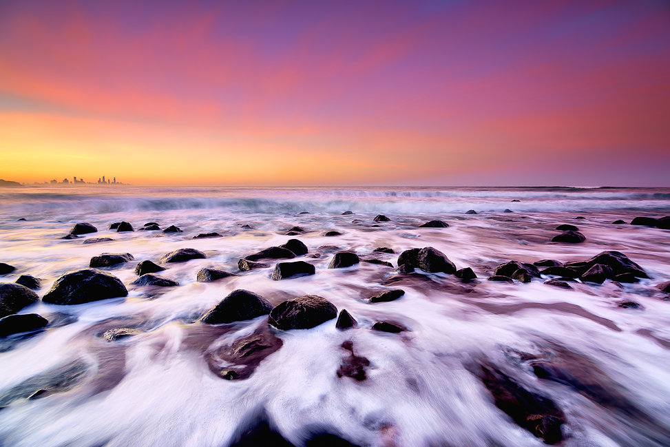 A guide to photographing the Gold Coast Burleigh Heads Sunrise Landscape