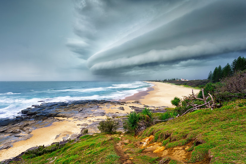 Point Cartwright Storm