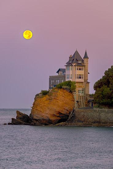 Moon Set - Biarritz