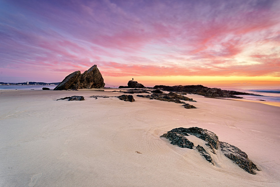A guide to photographing the Gold Coast Currumbin Rock Sunrise Landscape Photography