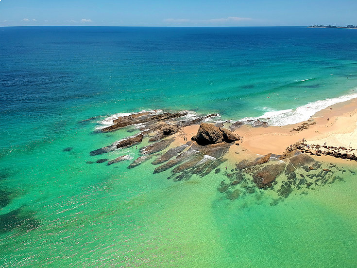 Currumbin From The Air