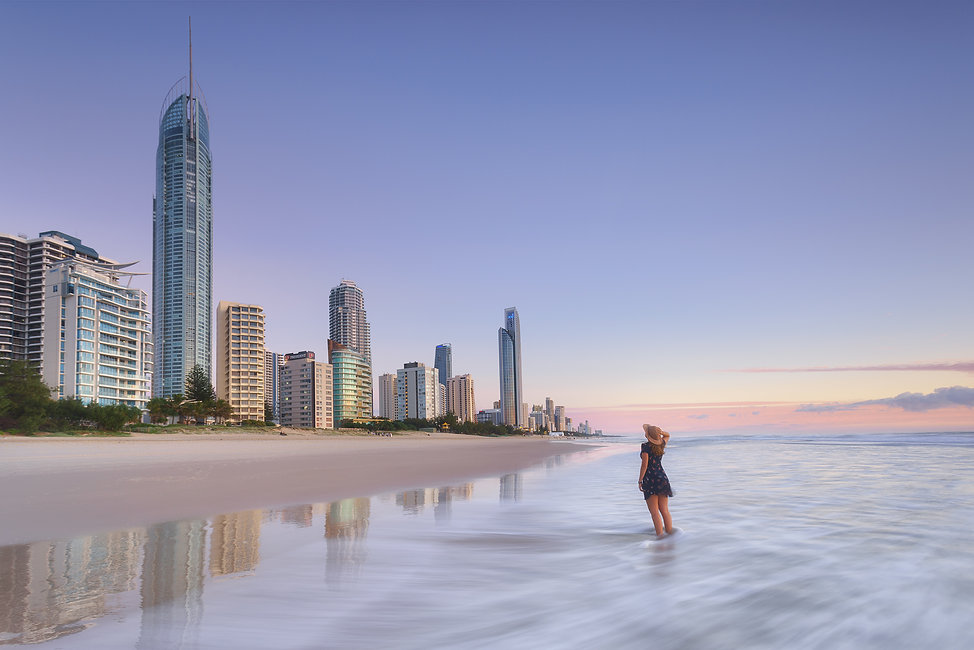 A guide to photographing the Gold Coast Surfers Paradise Sunrise Photography