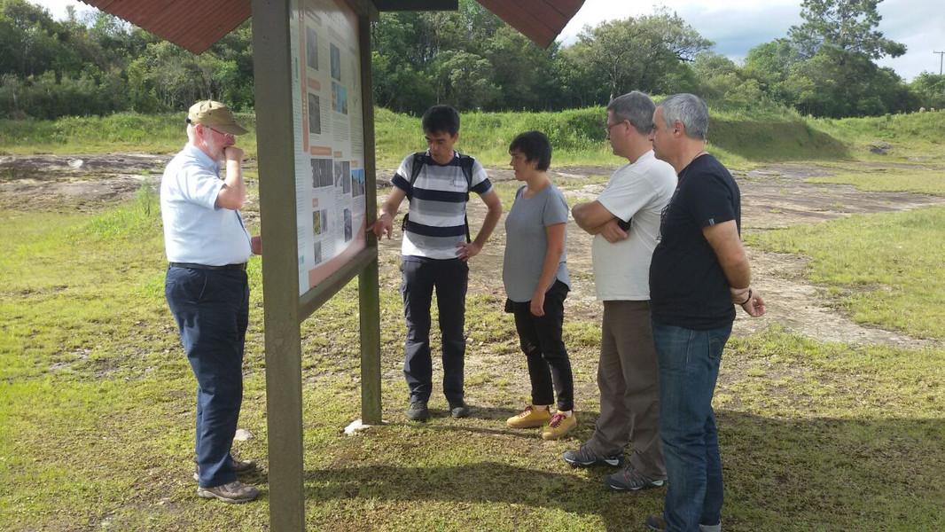 4 SBPG Painel Icnofósseis de São Luiz do Purunã