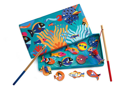 MAGNETIC'S FISHING GRAPHIC