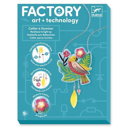 ART E TECHNOLOGYCOLLIER A ILLUMINIER       DJ09323