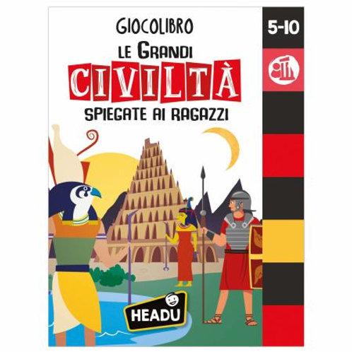 GIOCOLIBRO LE GRANDI CIVILTA'   IT83013