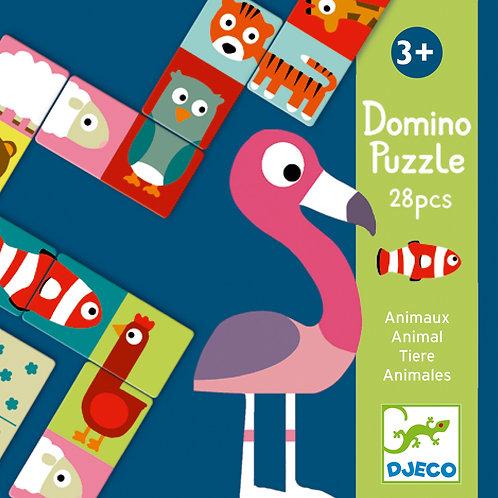 DOMINO PUZZLE ANIMAUX DJ08165
