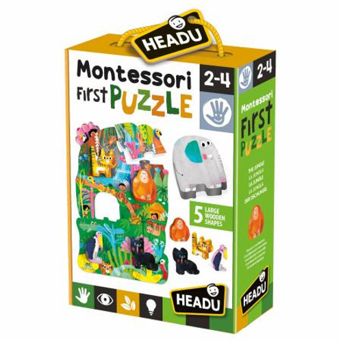 MONTESSORI MY FIRRST PUZZLE   IT22380