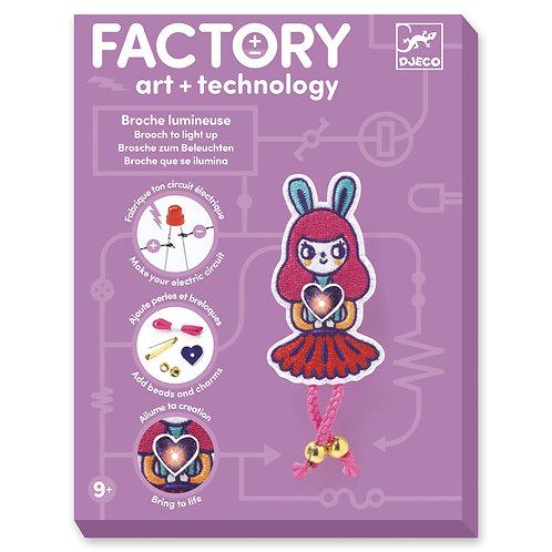 FACTORY ART & TECNOLOGY BROCHE