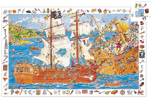 PUZZLE OBSERVATION PIRATES