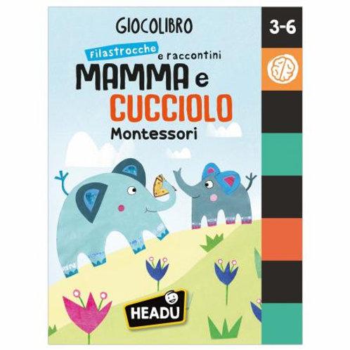 GIOCOLIBRO FILASTROCCHE E RACCONTI MAMMA E CUCCIOLO   IT83051