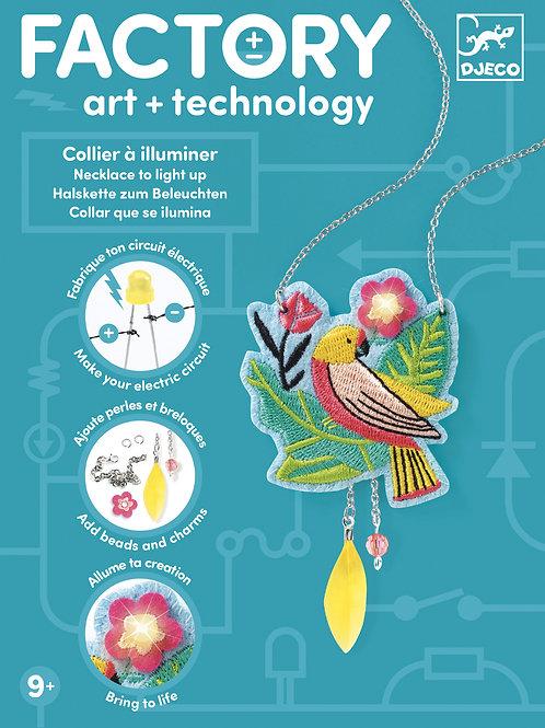 ART & TECNOLOGY COLLIER
