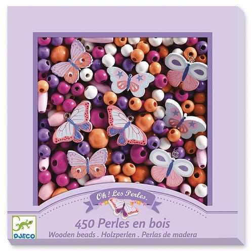 450     PERLES EN BOIS   DJ09810