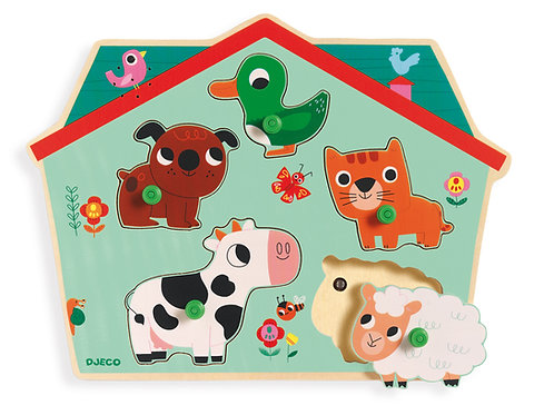 PUZZLE OUF WOOF  DJ01707